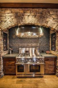 stone stove surround rustic home decor make mine rustic