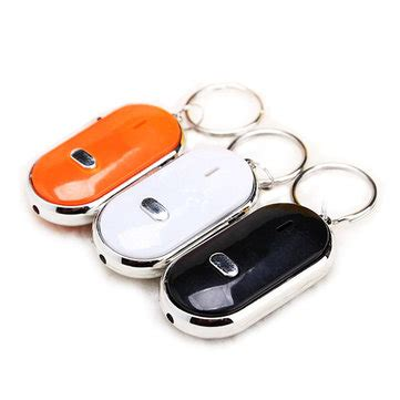 Always Find Your With The Led Keyring by Whistle Key Finder Find Your Keyring Keychain Sound