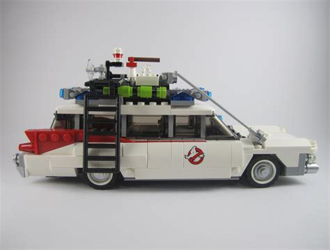 Ecto One Car by Review Lego 21108 Ghostbusters Ecto 1