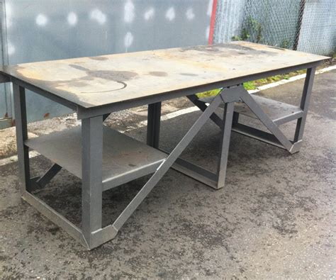 steel workshop bench men at work work bench steel 5 available