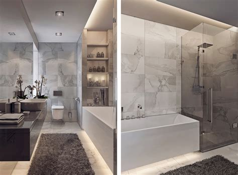 modern grey bathroom decorating ideas room decorating contemporary bathroom designs exposed gray and white color