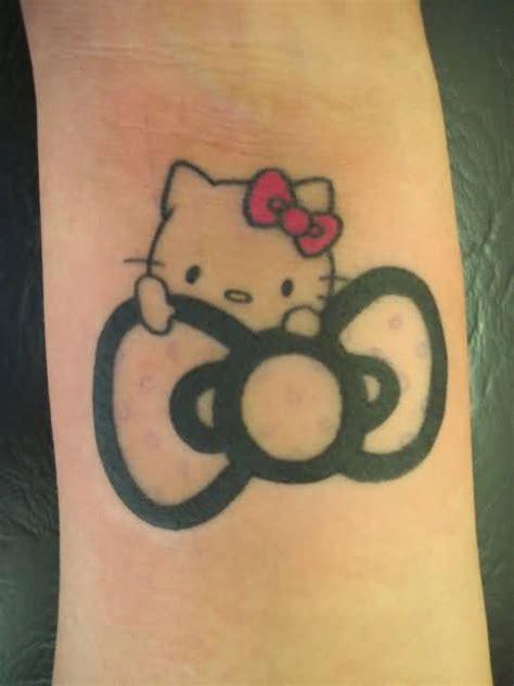 hello kitty bow tattoo 39 wonderful hello tattoos