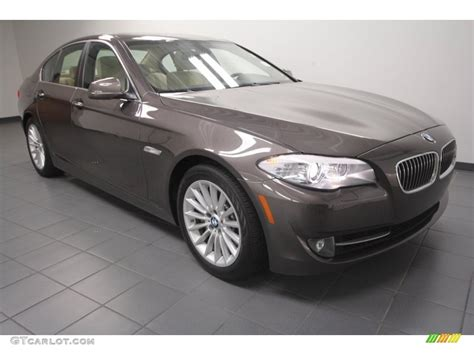 mojave color 2011 mojave brown metallic bmw 5 series 535i sedan