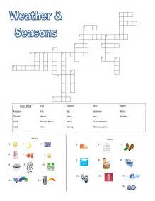 weather and seasons vocabulary activities lesson plan