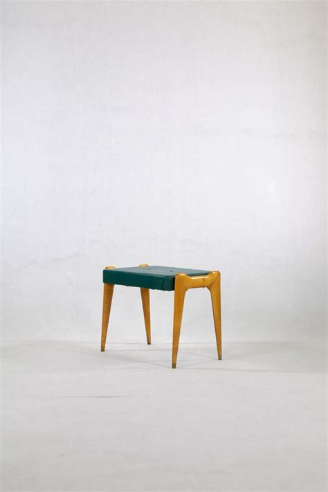 console table with stools green mid century console table with stool for sale at pamono