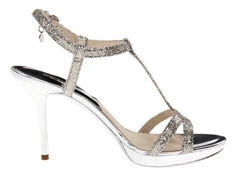 silver sparkly sandals s shoes michael kors yvonne platform t sandals
