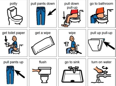 bathroom routine printables boardmaker bathroom routine quotes