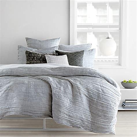 light grey duvet cover queen dkny city pleat duvet cover set bed bath beyond