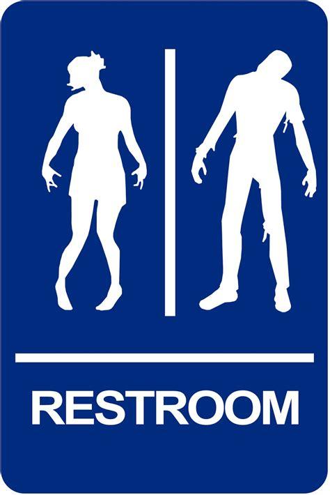 zombie bathroom zombie bathroom sign bathroom design ideas