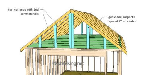 how to build a gable roof gable shed roof building a shed roof shed roof construction