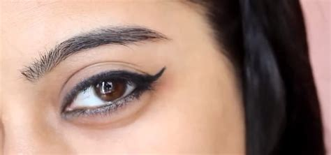 how to get a perfect winged eyeliner 171 makeup wonderhowto