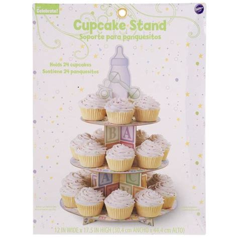 Baby Shower Cupcake Stand by Wilton Baby Shower Cupcake Stand Walmart