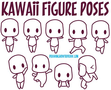 Drawing Kawaii by Guide To Drawing Kawaii Characters Part 1 How To Draw