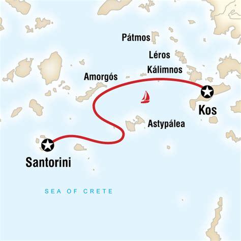 kos to santorini by boat sailing greece kos to santorini in greece europe g