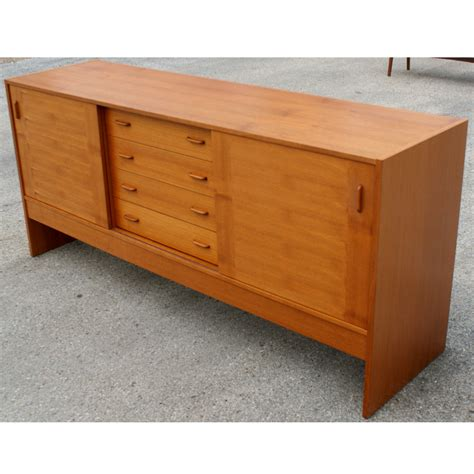 72 quot vintage scandinavian teak buffet price reduced ebay