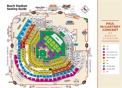 bush stadium seating busch stadium seating chart pictures to pin on