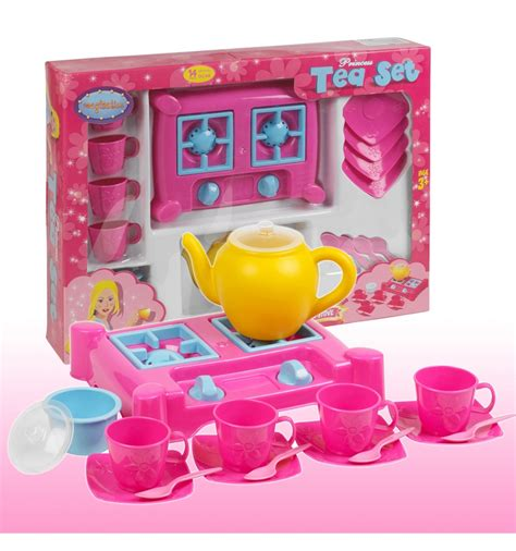 Tea Set Princes 15 princess tea set with stove 041012