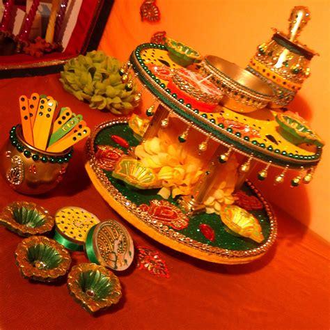 Henna Decorations by Afghan Henna Tray Decoration Ideas