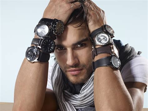 guy wearing many watches   Style & Fashion   Pinterest
