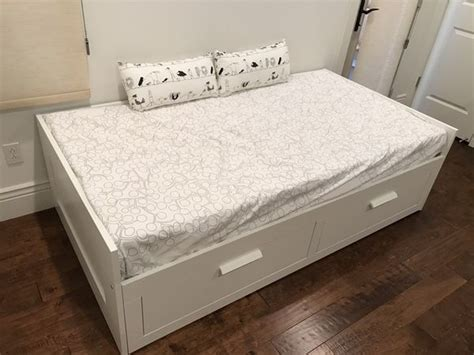 Brimnes Daybed Frame With 2 Drawers White by Brimnes Daybed Frame With 2 Drawers White