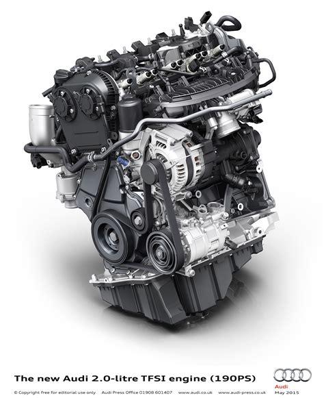 audi unveils new high efficiency tfsi petrol engine