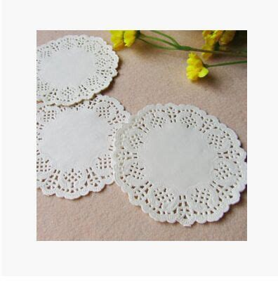 Paper Doyleys 14 5 Termurah Paper Doli Paper Dolly 200 pcs 3 5 quot 88 mm white lace paper doilies doyleys vintage coasters placemat craft