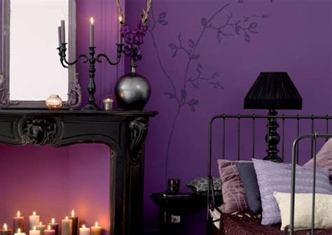 purple and black bedroom gorgeous purple black bedroom gothic for the home