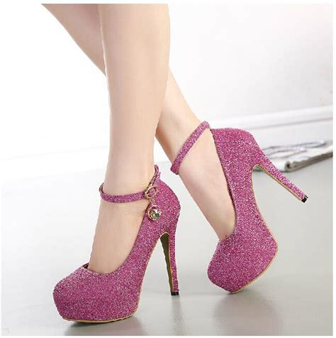 high heels women shoes woman new 2015 ladies ankle