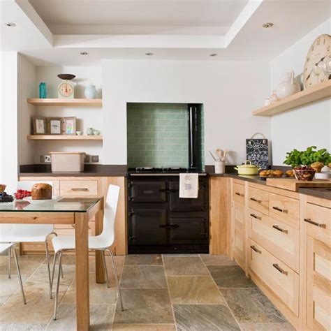 Practical Kitchen Designs Step Inside A Coastal Kitchen Filled With Materials Ideal Home