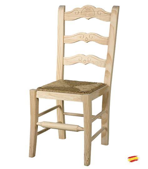 sillas de madera rusticas marbella compra   en nuestra tienda de muebles  decoracion