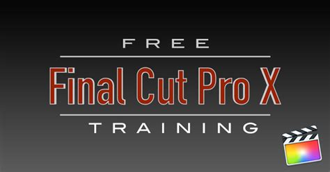 tutorial final cut pro x free importing archives ripple training