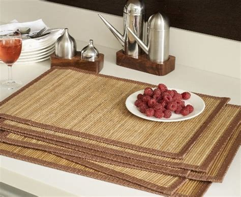 Dining Table Mat Distinctive Types Of Table Mats For Dining Table