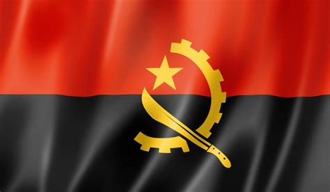what do the colors on the flag what do the colors and symbols of the flag of angola