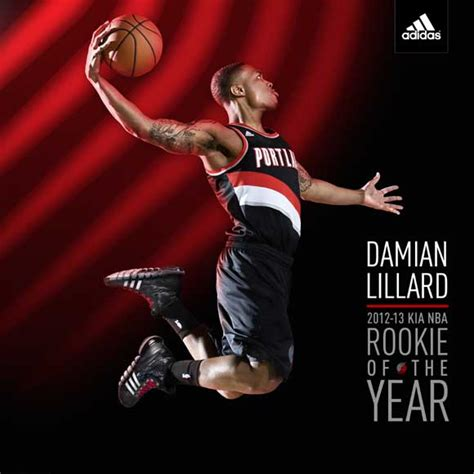 Nba Rookie Of The Year Also Search For Adidas X Damian Lillard Rookie Of The Year Shirts Weartesters