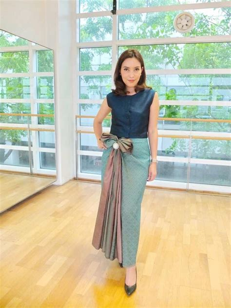 Dress Claudi Gaun 272 best thai lao khmer traditional clothing images on thai dress traditional