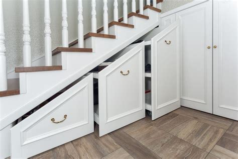 the stairs storage how to build storage space your stairs gardening