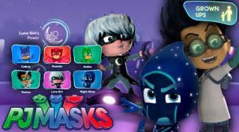 pj masks luna romeo amp night ninja website parent zone family gamer tv