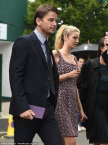 pregnant tamsin egerton and josh hartnett spotted at wimbledon daily paula s blog absolute josh hartnett