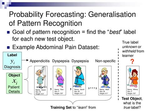 probability theory pattern recognition ppt reliable probability forecasting a machine