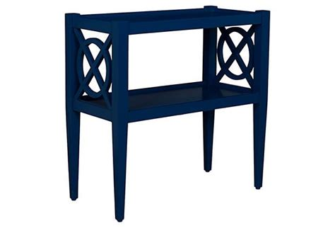 Navy Side Table Alistair Side Table Navy
