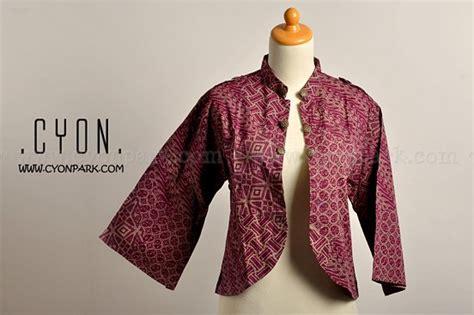Bolero Batik Wanita Kimmy U Can Baju Batik Gamis Batik Batik Murah Model Batik