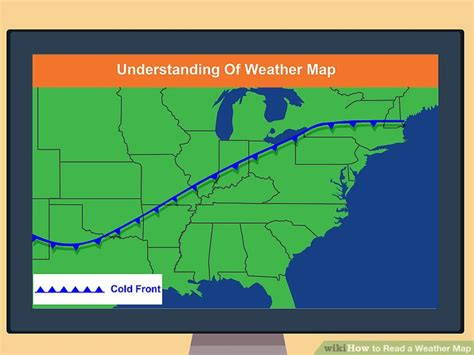 a weather pattern you can expect is how to read a weather map with pictures wikihow