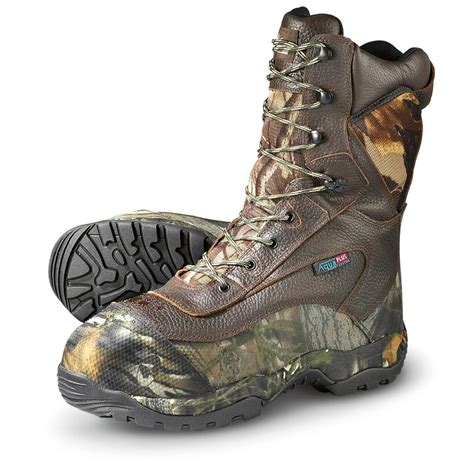 guide gear mens sports hunting boots 1200 gram men s itasca 1 200 gram thinsulate ultra insulation