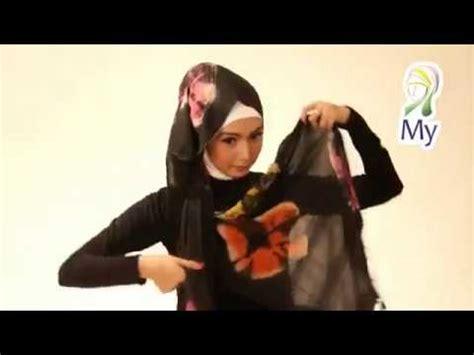 tutorial jilbab rajut tutorial hijab pashmina rajut untuk pesta pernikahan