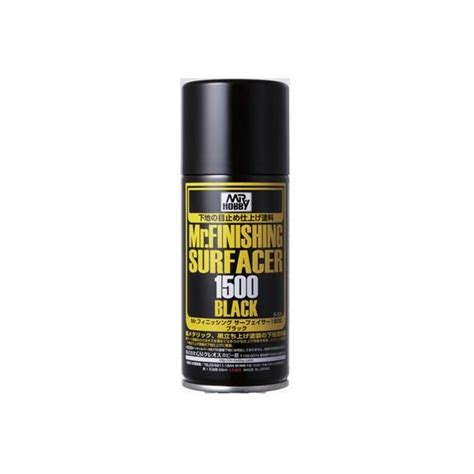 Dijamin Mr Finishing Surfacer 1500 White mr finishing surfacer 1500 black spray cmmodellismo