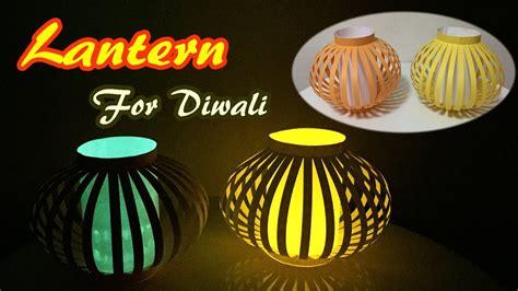 How To Make A Paper Lantern For Diwali - lantern for diwali how to make a paper l easy