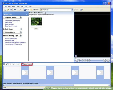 windows movie maker subtitles tutorial how to add subtitles to a movie in windows movie maker 8