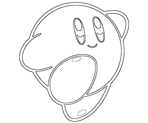 coloring pages of kirby kirby coloring pages