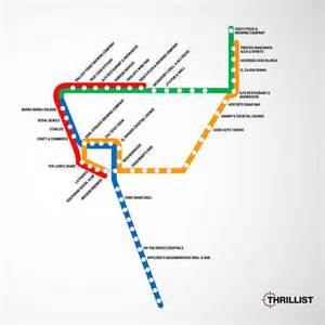 San Diego Trolley Map by San Diego Nightlife Best Bars Night Clubs And More
