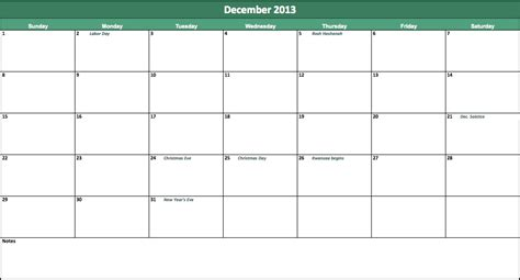 Openoffice Calendar Templates   Calendar Template 2016